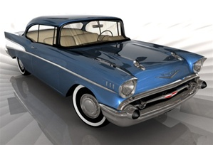 1957 Chevy Bel Air  (2 'n 1) (1/25) (fs)