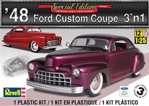 1948 Ford Custom Coupe (3 'n 1) (1/25) (fs)