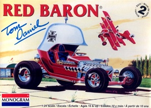 Red Baron Show Car by Tom Daniel (1/24) (fs)