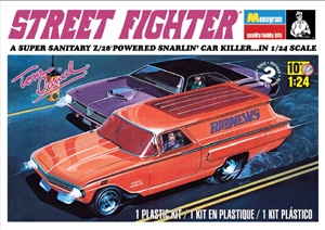 Tom Daniel's Street Fighter 1960 Chevy Delivery Sedan  (1/24) (fs)