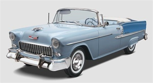 1955 Chevy Bel Air Convertible 1/25 (fs)