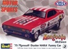 "1975 Plymouth Duster ""Mongoose"" Funny Car 1/25 kit"