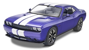 2013 Challenger SRT8 Pre-Decorated (Plum Crazy w/ White) (1/25) (fs)