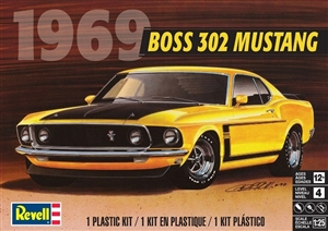 "1969 Boss 302 Mustang (1/25) (fs)<br><span style=""color: rgb(255, 0, 0);"">Back In Stock </span>"