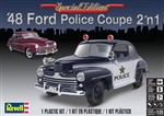 1948 Ford Coupe with New Stock Top  (2 'n 1) Police or Stock (1/25) (fs)