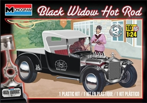 "1927 Ford ""Black Widow"" Hot Rod (1/24) (fs)"