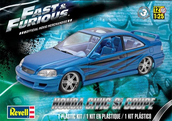 Honda Civic Aftermarket Parts >> 'Fast & Furious' Honda Civic Si Coupe (1/25) (fs)