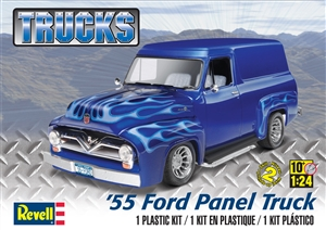 1955 Ford Panel Truck (1/24) (fs)