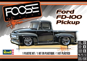 "1956 Ford ""Chip Foose Designs"" FD-100 Pickup  (1/25) (fs) <br><span style=""color: rgb(255, 0, 0);"">Just Arrived</span>"