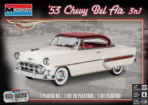 "1953 Chevy Bel Air (3 'n 1) Stock, Custom or Lowrider (1/24) (fs)<br><span style=""color: rgb(255, 0, 0);"">Just Arrived</span>"
