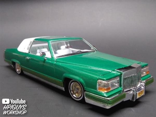 1990 Cadillac Custom Lowrider (1/25) (fs)