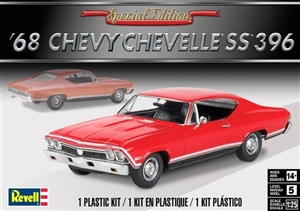 1968 Chevelle SS 396 (New Tool) (1/25) (fs) Damaged Box