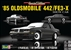 1985 Oldsmobile 442-FE3-X Show Car (1/25) (fs)
