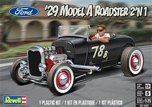 "1929 Ford Model A Roadster (2 'n 1) (1/25) (fs) <br><span style=""color: rgb(255, 0, 0);"">Back in Stock</span>"