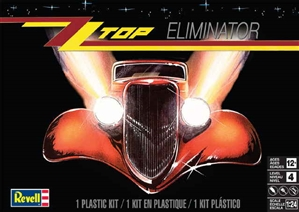 1933 Ford 3 Window Coupe 'ZZ Top Eliminator (1/24) (fs)