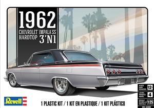 "1962 Chevy Impala Hardtop (3 'n 1) (1/25) (fs)<br><span style=""color: rgb(255, 0, 0);"">Just Arrived </span>"