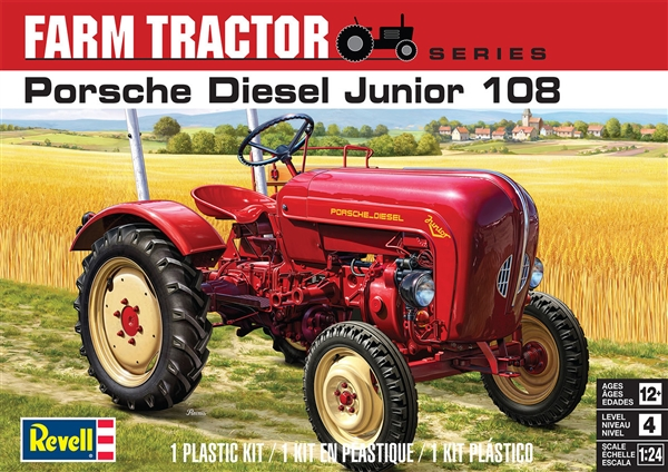 porsche diesel junior 108 farm tractor 1 24 fs tba. Black Bedroom Furniture Sets. Home Design Ideas