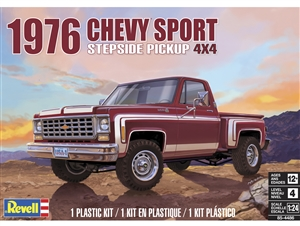 "1976 Chevy Sport Stepside 4x4 Pickup Truck (1/24) (fs)<br><span style=""color: rgb(255, 0, 0);"">Just Arrived</span>"