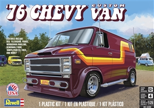 "1976 Chevy Custom Van (1/25) (fs) <br><span style=""color: rgb(255, 0, 0);"">Late April, 2021</span>"