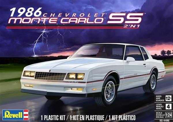 1986 Chevy Monte Carlo Ss  2  U0026 39 N 1   1  24   Fs  Damaged Box