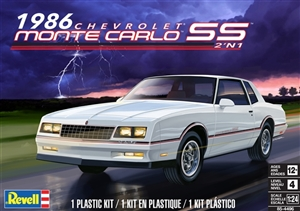 1986 Chevy Monte Carlo SS (2 'n 1) (1/24) (fs) <br>Damaged Box
