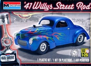 1941 Willys Street Rod (1/25) (fs)