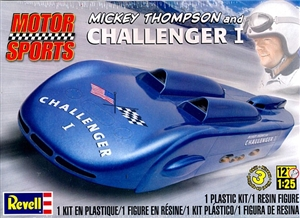 Mickey Thompson's Challenger I with figure (1:/25) (fs)