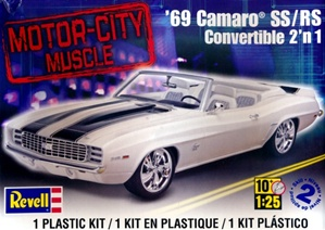 1969 Chevy Camaro SS/RS Convertible (1/25) (fs)