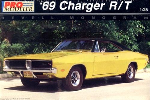 1969 Dodge Charger R T Pro Modeler 1 25 Fs