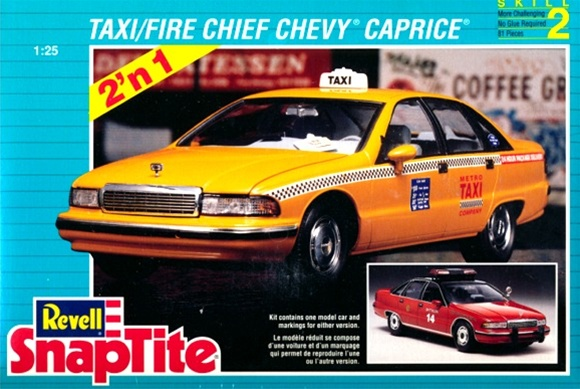 1992 Chevy Caprice Taxi Or Fire Chief Snap Kit 1 25 Fs