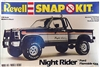 "1980 Ford F-150 Flareside ""Night Rider"" 4 X 4 Pickup Snap Kit (1/25) (fs)"