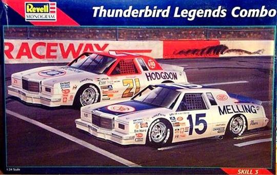 "Diecast Racing Cars >> 1981 Thunderbird ""Squarebirds"" Legends Combo # 15 and # 21 ..."