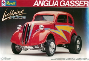 1951 Ford Anglia Gasser Lightning Rod (1/25) (fs)