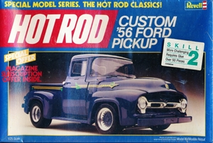 "1956 Ford Custom Pickup ""Hot Rod Series"" (1/25) (fs) 1986 Edition"