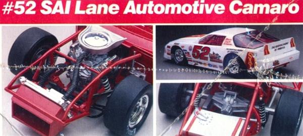 "ASA 1988 ""SAI Lane Automotive"" ASA Camaro # 52 Butch ..."