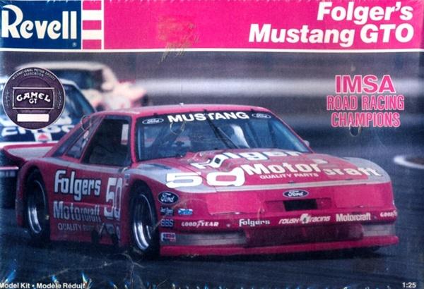 1987 Ford Mustang GTO Folgers 50 IMSA Racer 125 Fs