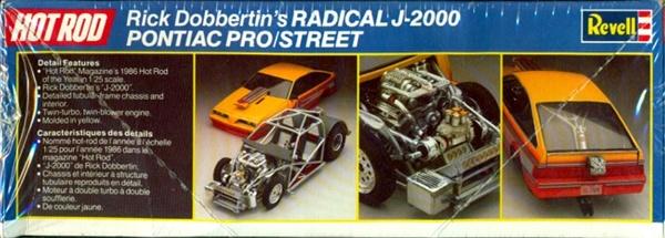 1986 Rick Dobbertin S Radical J 2000 Pontiac Pro Street 1
