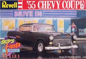 1955 Chevy Coupe Skips Fiesta Drive-in Series (1/25) (fs)