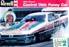 1989 John Force Castrol Oldsmobile Cutlass Funny Car (1/24) (fs)
