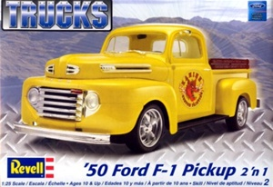 1950 Ford Pickup (2 'n 1) (Stock or Custom) (1/25) (fs)