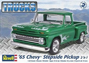 1965 Chevy Stepside Pickup  (2 'n 1)  (1/25) (fs)
