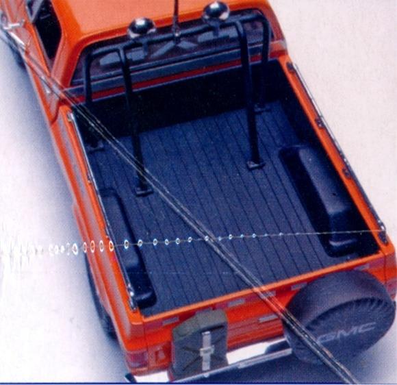 1977 gmc pickup with snow plow  1  24   fs