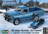 "1980 Jeep Honcho with Arctic Cat Snowmobile  (1/24) (fs)<br><span style=""color: rgb(255, 0, 0);""></span>"