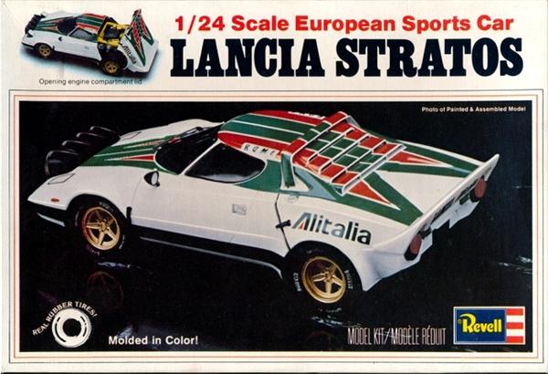 Lancia Stratos European Sports Car (1/24) (fs)