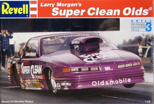 Kit Car Manufacturers >> Larry Morgan's Super Clean Oldsmobile Pro Stock (1/25) (fs)