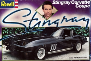 1965 Chevy Corvette Sting Ray Coupe (1/25) (fs)