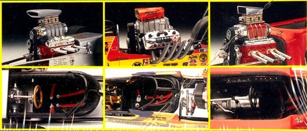 tony nancy hall of fame dragsters  22 roadster  22 jr   revell 25