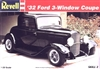 1932 Ford 3 Window Coupe Street Rod (1/25) (fs)