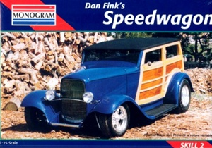 1932 Ford Speedwagon Street Rod (1/25) (fs)