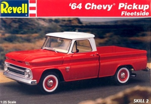 1964 Chevy Fleetside Pickup  (1/25) (fs)